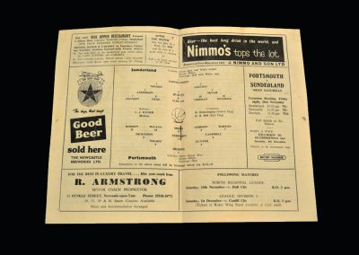 Sunderland v Portsmouth 21.11.1962 - League Cup 4th Round Replay