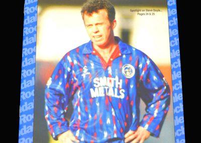 Wycombe v Rochdale 04.04.1994