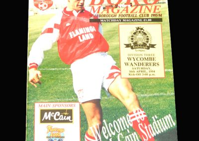 Wycombe v Scarborough 16.04.1994