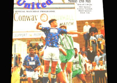 Wycombe v Carlisle 15.05.1994 Div 3 Play-Offs Semi Final 1st Round