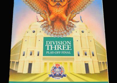 Wycombe v Preston 28.05.1994 Div 3 Play-Offs Final