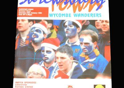 Wycombe v Shrewbury 29.01.1994