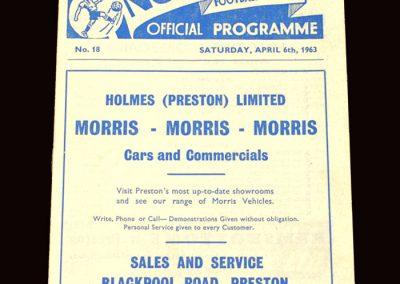 Sunderland v Preston 06.04.1963