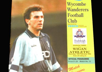 Wycombe v Wigan 19.02.1994