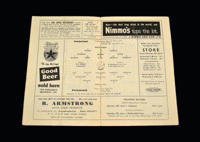 Sunderland v Portsmouth 13.04.1963