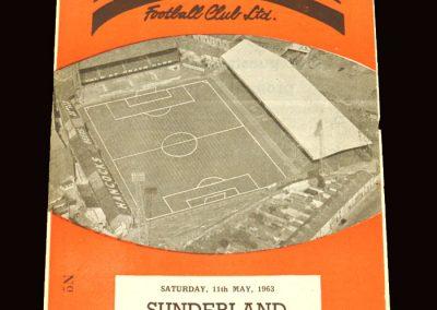Sunderland v Swansea 11.05.1963