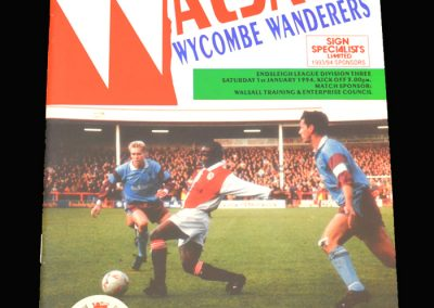 Wycombe v Walsall 01.01.1994
