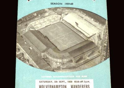 Wolves v Man City 05.09.1959