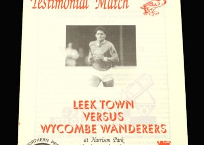 Wycombe v Leek Town 26.07.1993 - Chris McMullen Testimonial