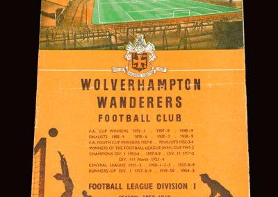 Wolves v Everton 26.09.1959