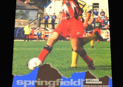 Wycobe v Wigan 28.08.1993