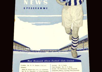 Wolves v West Brom 05.12.1959