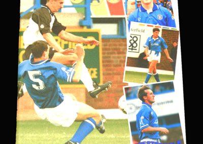 Wycombe v Chesterfield 02.10.1993