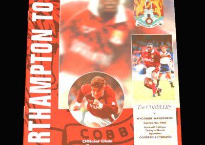 Wycombe v Northampton 09.10.1993