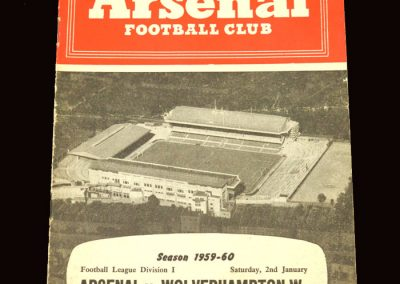 Wolves v Arsenal 02.01.1960