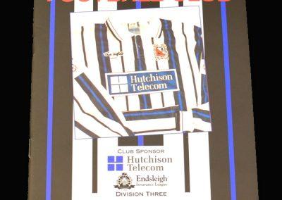 Wycombe v Darlington 23.10.1993