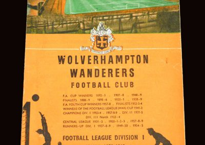 Wolves v Man City 16.01.1960