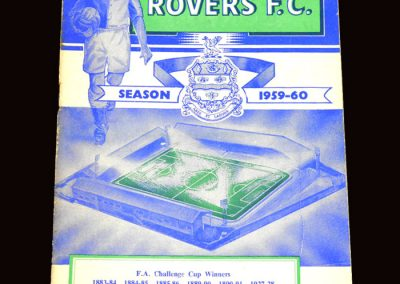 Wolves v Blackburn 23.01.1960