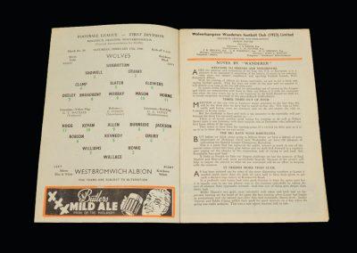 Wolves v West Brom 27.02.1960
