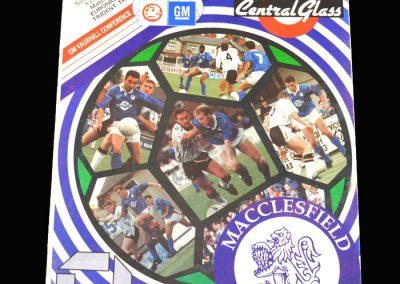 Wycombe v Macclesfield 22.08.1992