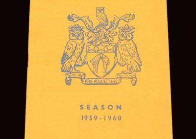 Wolves v Leeds 02.04.1960
