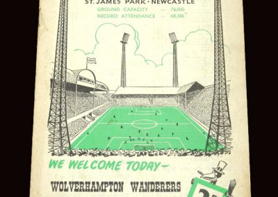 Wolves v Newcastle 16.04.1960