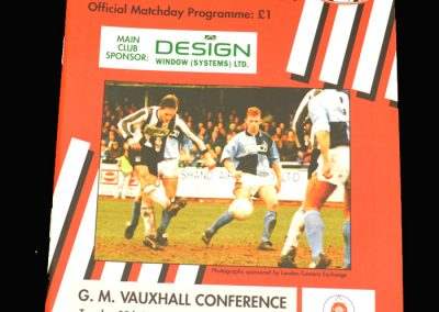 Wycombe v Bath 29.09.1992