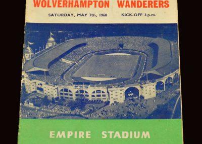 Wolves v Blackburn 07.05.1960 - FA Cup Final