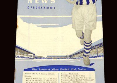 Man Utd v West Brom 22.08.1959