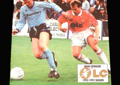 Wycombe v Woking 26.12.1992