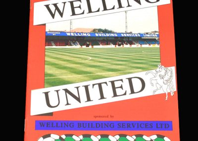 Wycombe v Welling 02.01.1993