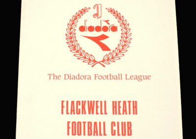 Wycombe v Flackwell Heath 19.01.1993 - Berks & Bucks Senior Cup