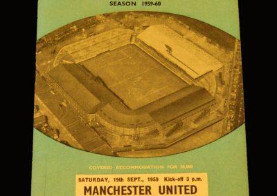 Man Utd v Man City 19.09.1959