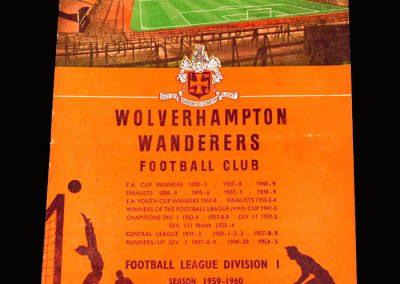 Man Utd v Wolves 17.10.1959
