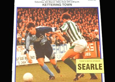 Wycombe v Kettering Town 06.03.1993