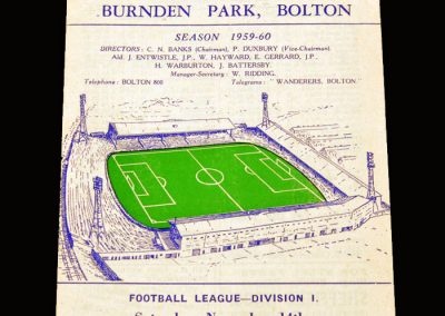 Man Utd v Bolton 14.11.1959