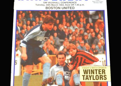 Wycombe v Boston 30.03.1993