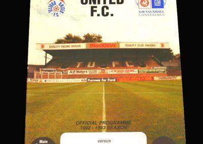 Wycombe v Telford 24.04.1993