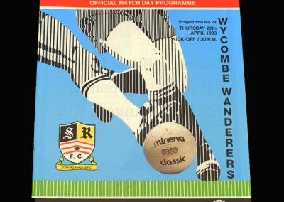 Wycombe v Stafford Rangers 29.04.1993