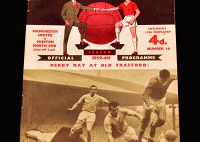Man Utd v Preston 13.02.1960