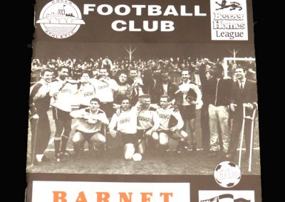 Barnet v Dover 20.07.1991 (Friendly)
