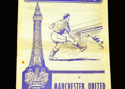 Man Utd v Blackpool 27.02.1960