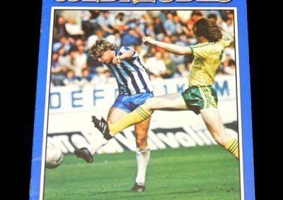 Middlesbrough v Sheff Wed 28.08.1982