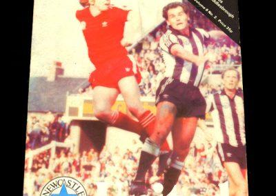 Middlesbrough v Newcastle 08.09.1982