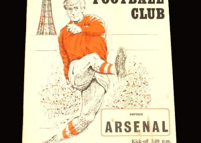 Arsenal v Blackpool 07.11.1970