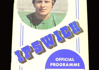 Arsenal v Ipswich 21.11.1970