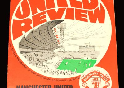 Arsenal v Man Utd 19.12.1970