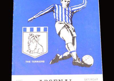 Arsenal v Huddersfield 16.01.1971