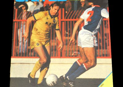 Middlesbrough v Leeds 20.11.1982
