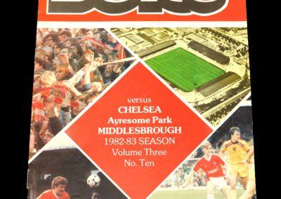 Middlesbrough v Chelsea 11.12.1982